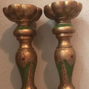 Two's Company Candle Holders